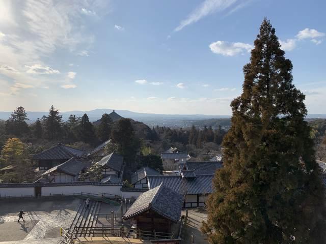 東大寺二月堂からの風景
