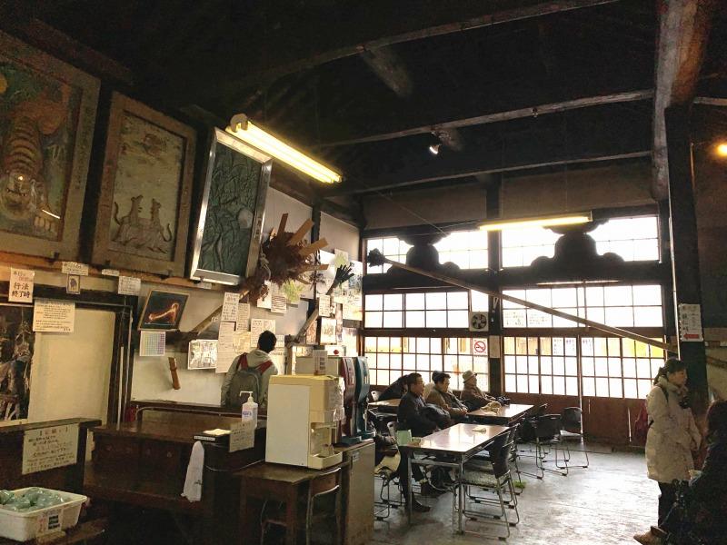 二月堂北の茶所