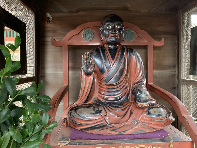 興福寺南円堂の賓頭盧尊者像