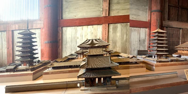 大仏殿の模型