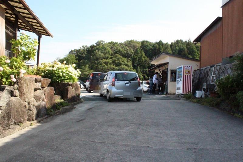 矢田寺の駐車場の混雑状況